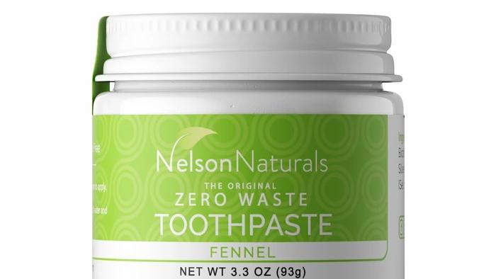 Nelson Naturals Fennel Toothpaste 93g