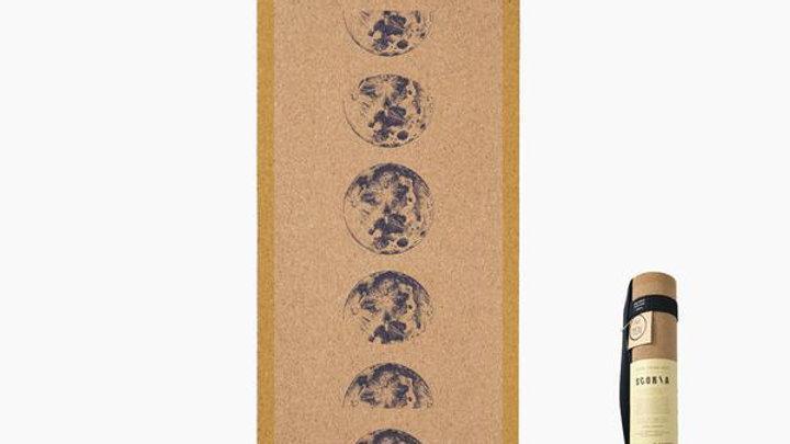 Scoria Moonphase Cork Yoga Mat 4.5mm
