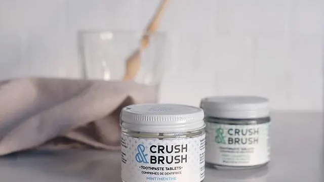 Nelson Naturals Crush & Brush Toothpaste
