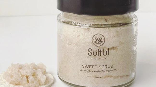 Solful Organics Sweet Scrub