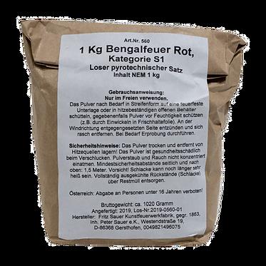 Bengalfeuer 1 kg