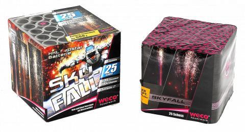 Skyfall  XXl Redstar Batterie 25 Schuss