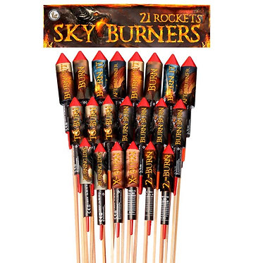 Sky Burners 21 teilig