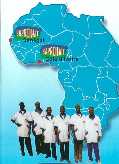 carte afrique saprolait