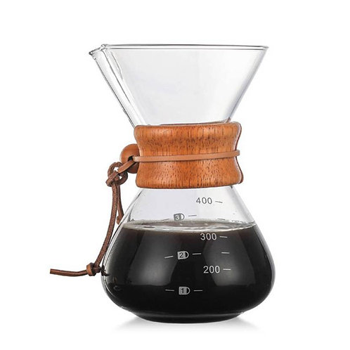 Glass Pour-Over Brewer