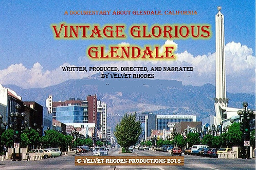 Vintage Glorious Glendale DVD and Book