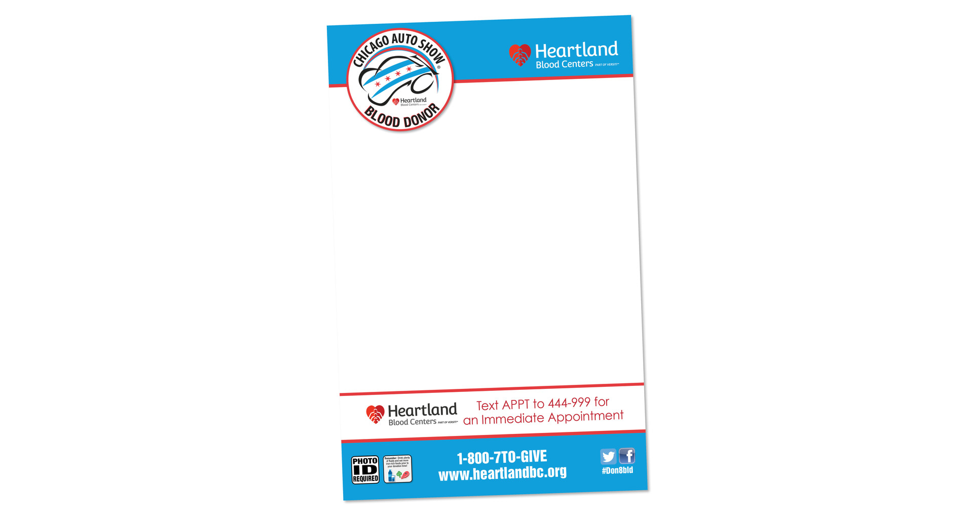 Heartland Blood Centers Email Template