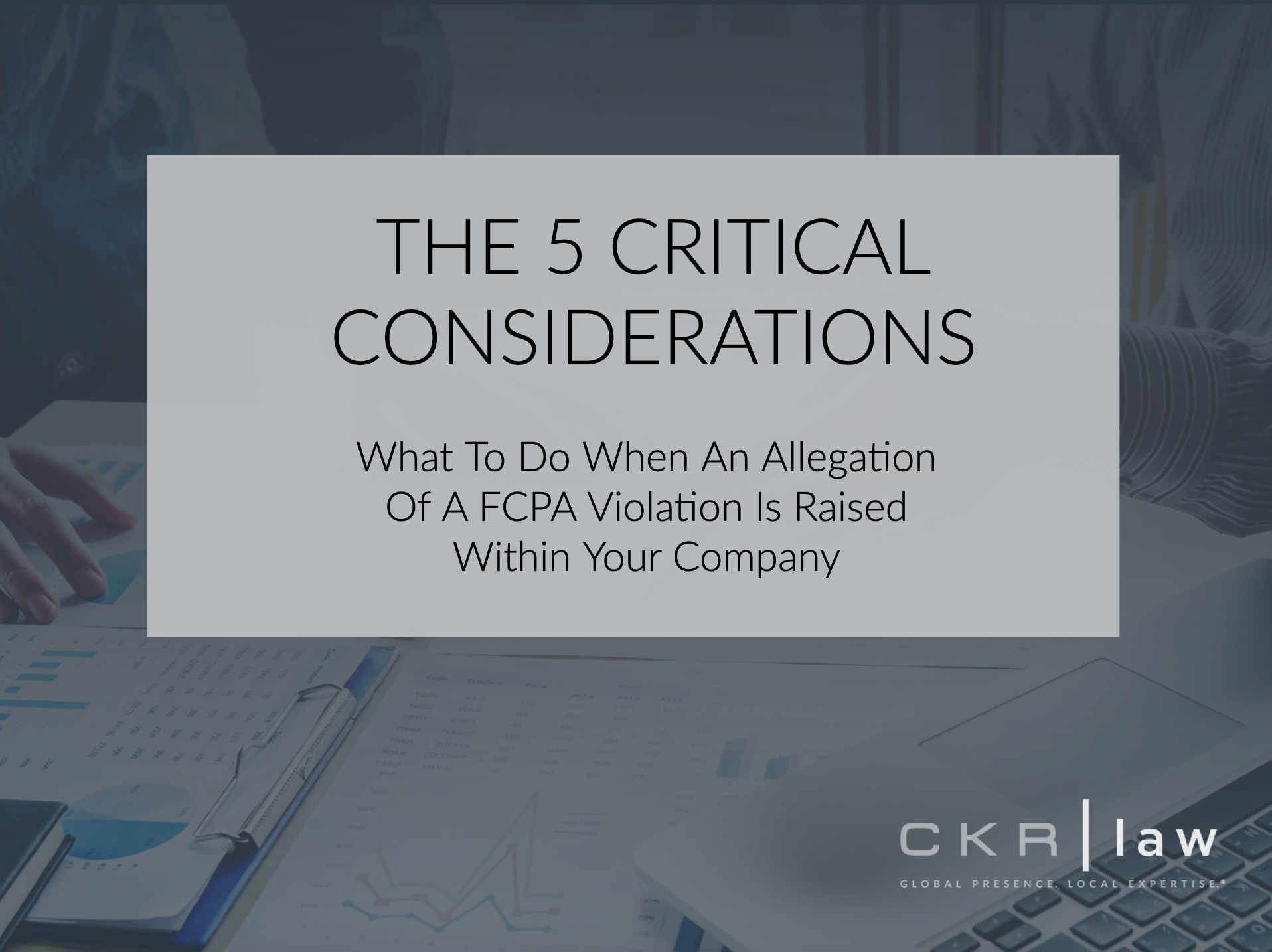 CKR Law presentation