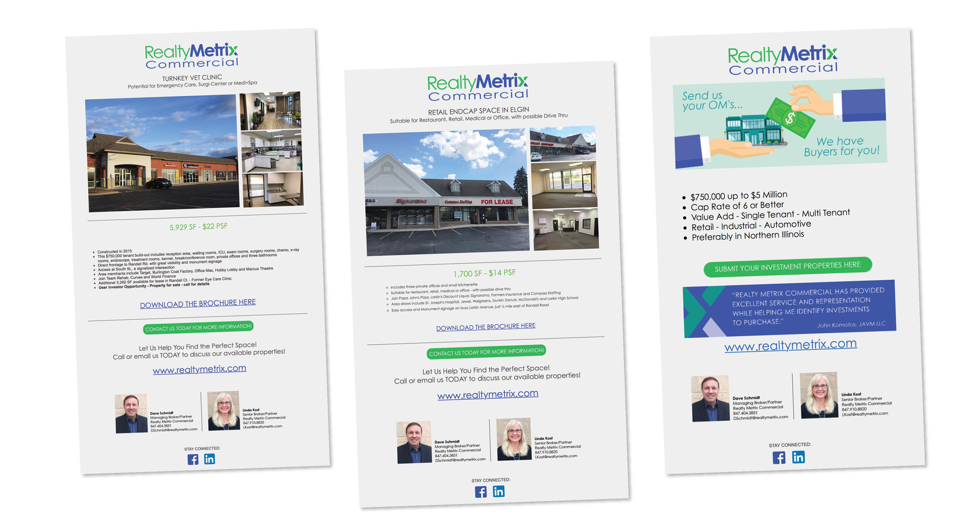 Realty Metrix Commercial Email Series