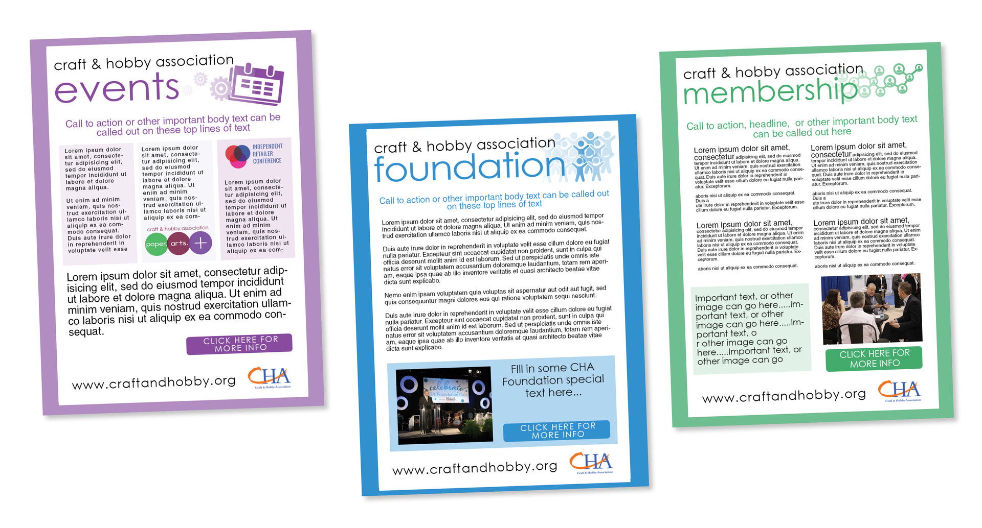 CHA Email Newsletter Series 1