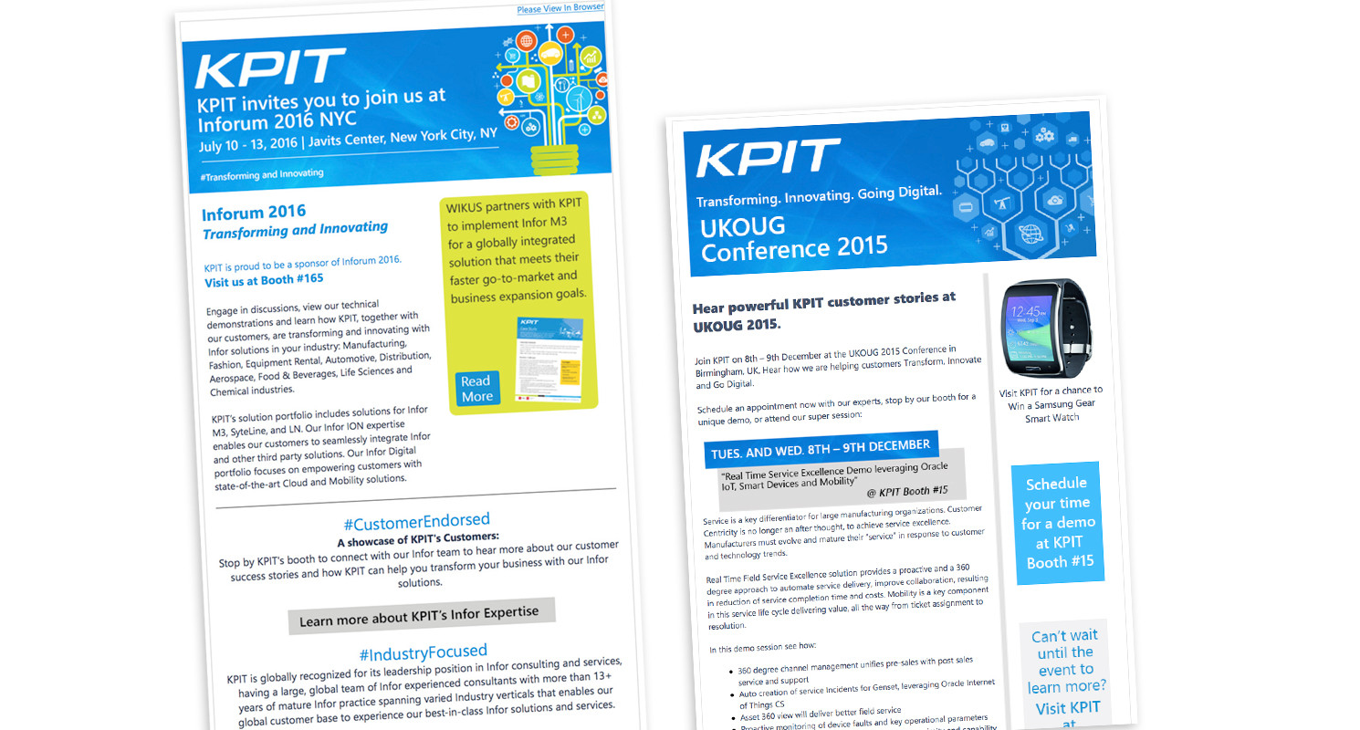 KPIT Email Newsletter