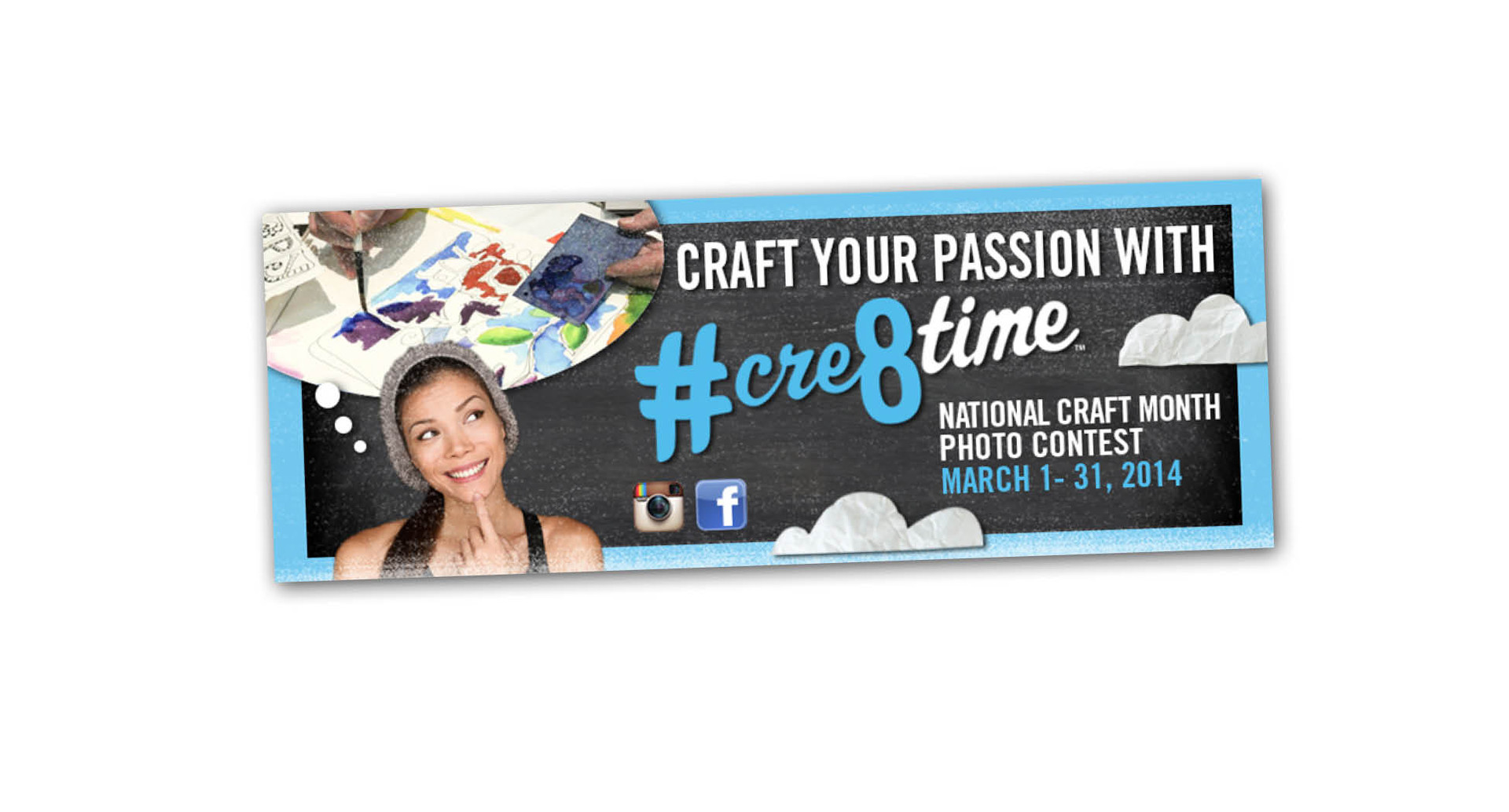 Cre8time Banner ad