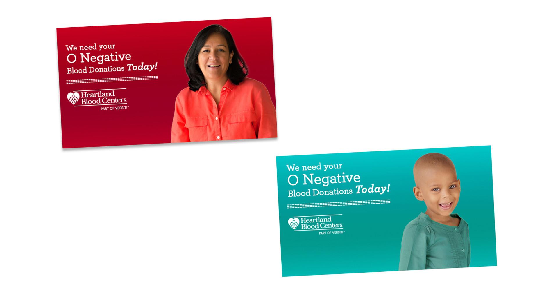 Heartland Blood Centers Social Media Ads