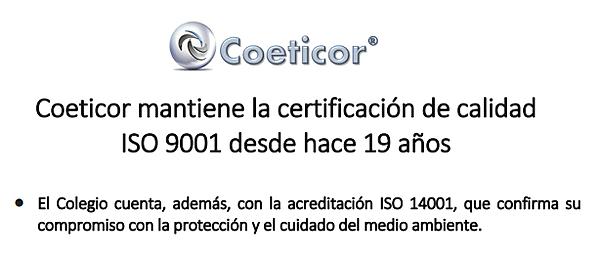 Certificaciones Calidad