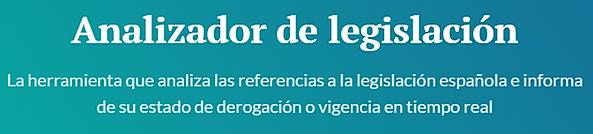 Analizador legislación - Legicheck