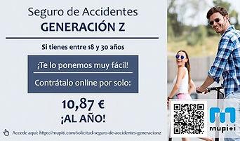 Seguro de accidentes - Generación Z