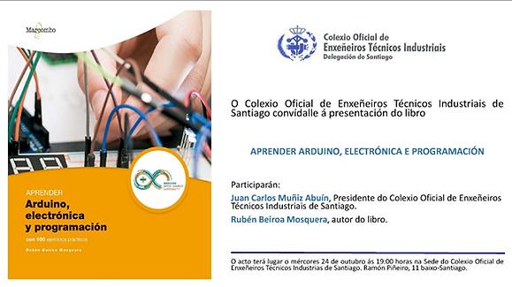Conferencia: Presentación del libro Aprender Arduino