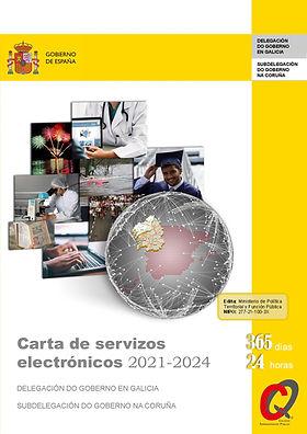 Carta de Servizos electrónicos 2021-2024