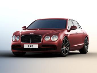 Nye Bentley Flying Spur Beluga