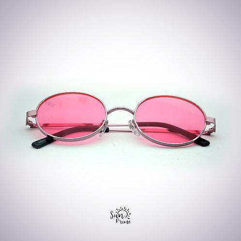 Óculos Sun prime Redondo Rosa