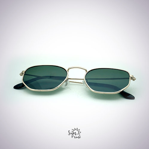 Óculos Sun prime Dourado