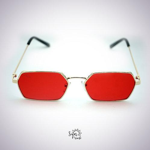 Óculos Sunprime Vermelho