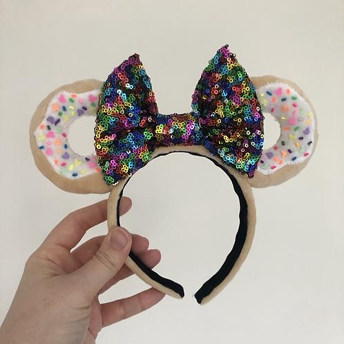 Plush Donut Mouse Ears