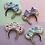 Thumbnail: Luxe Donut Mouse Ear Keyring