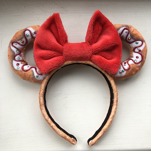 Gingerbread Donut Mouse Ears RTS