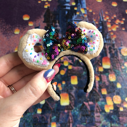 Donut Mouse Ear Keyring