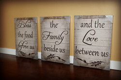 BLESSINGS CANVAS PRINTS