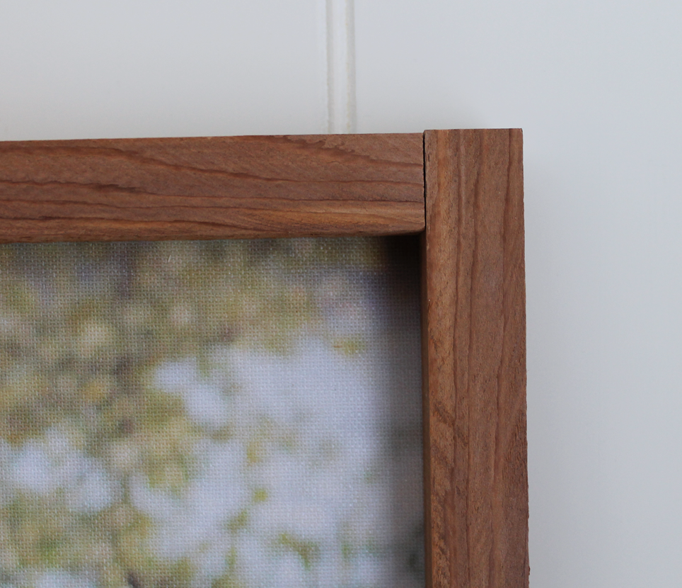 Cedar Frame Close Up