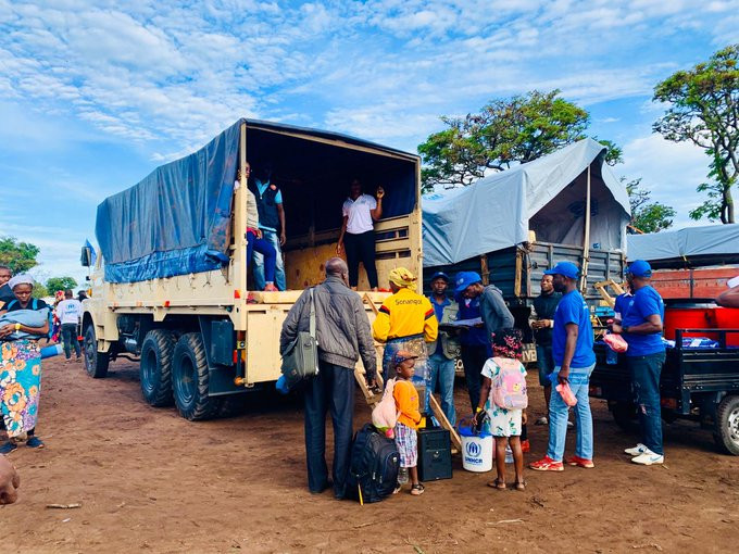 UNHCR repatriates DRC refugees from Angola, November 2019