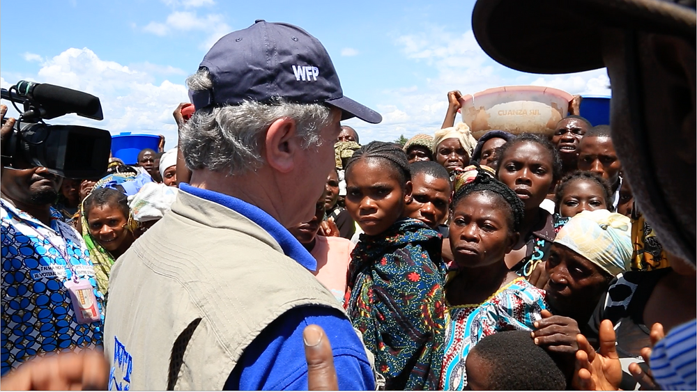 UN Food Programme director David Beasley visited Kasai region in the DRC
