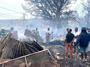 Alexandra residents burned shops and homes belonging to immigrants