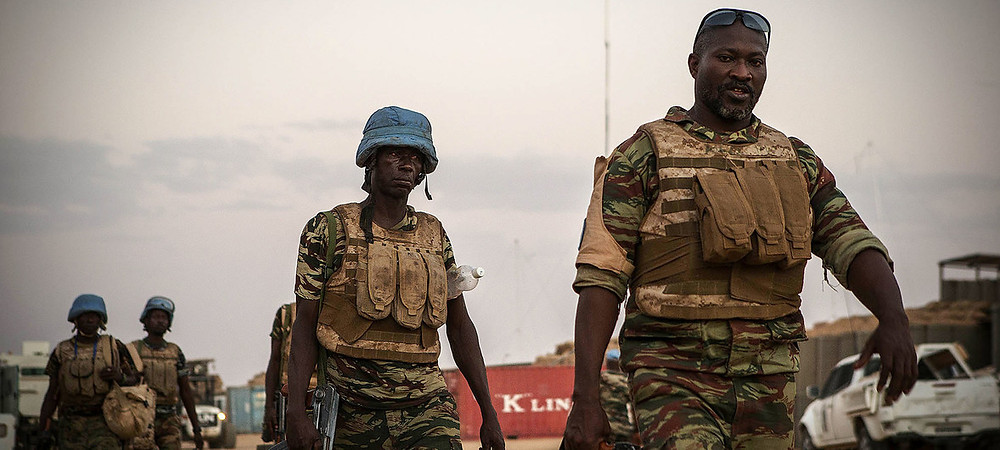 Guinea soldiers are part of the UN peacekeeping mission in Mali