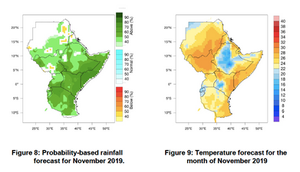 Climate Outlook for November 2019, ICPAC