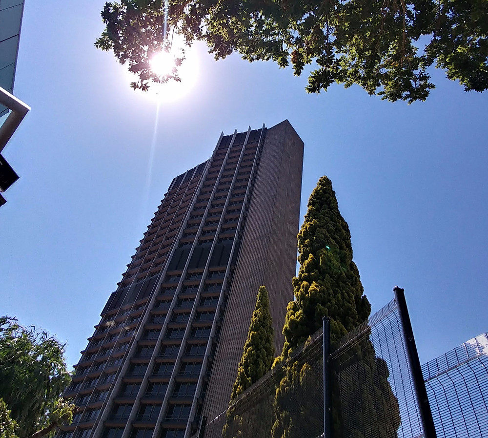 the sabc building known as radio park in Auckland Park, Johannesburg