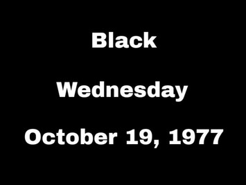 Black Wednesday: Never forgetting