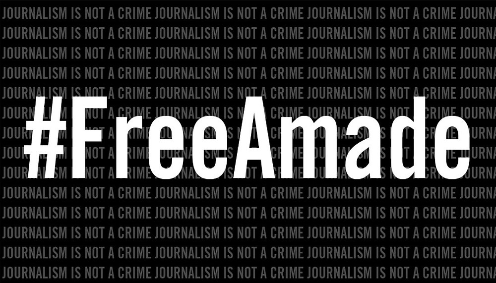 free amade abubbacar held by mozambique media freedom