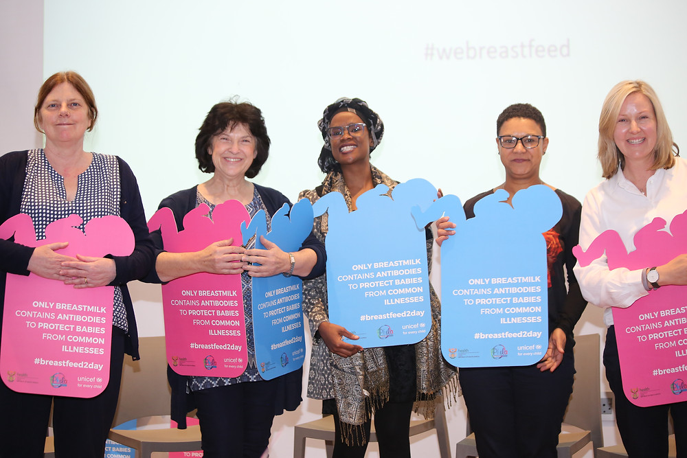 panelists at the roundtable discussion on facilitating breastfeeding in the workplace