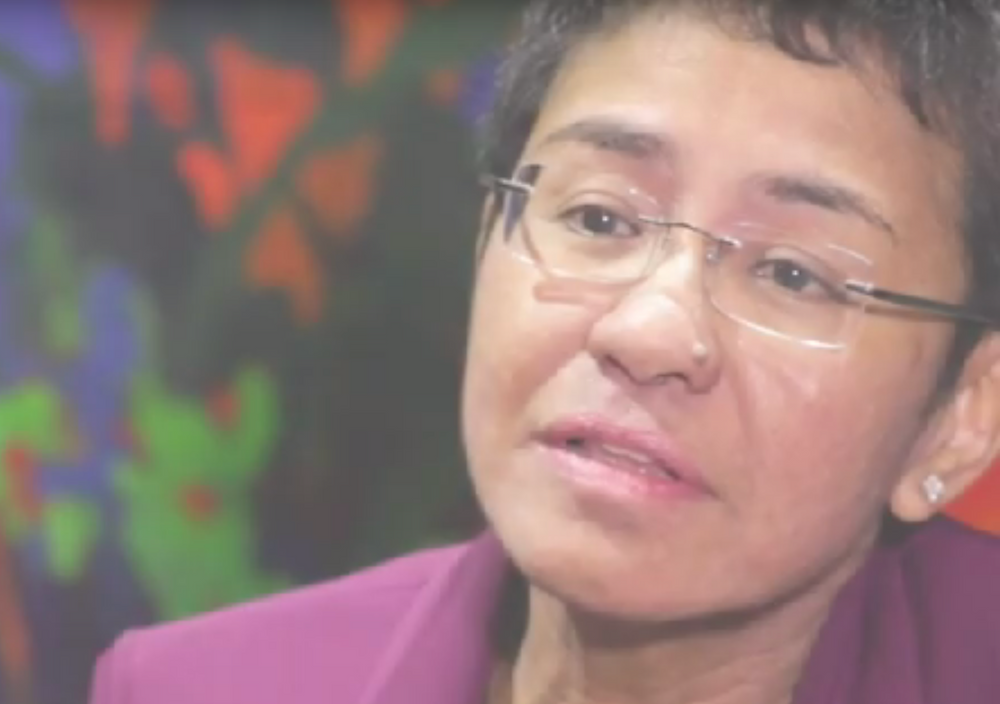 Maria Ressa Arrest Rappler Philippines Duterte