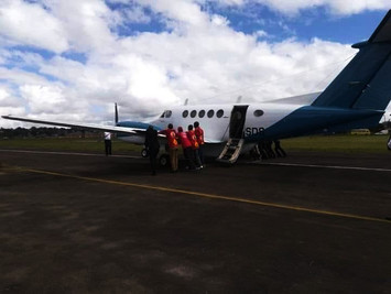 'Detained' SA pilots return from Malawi