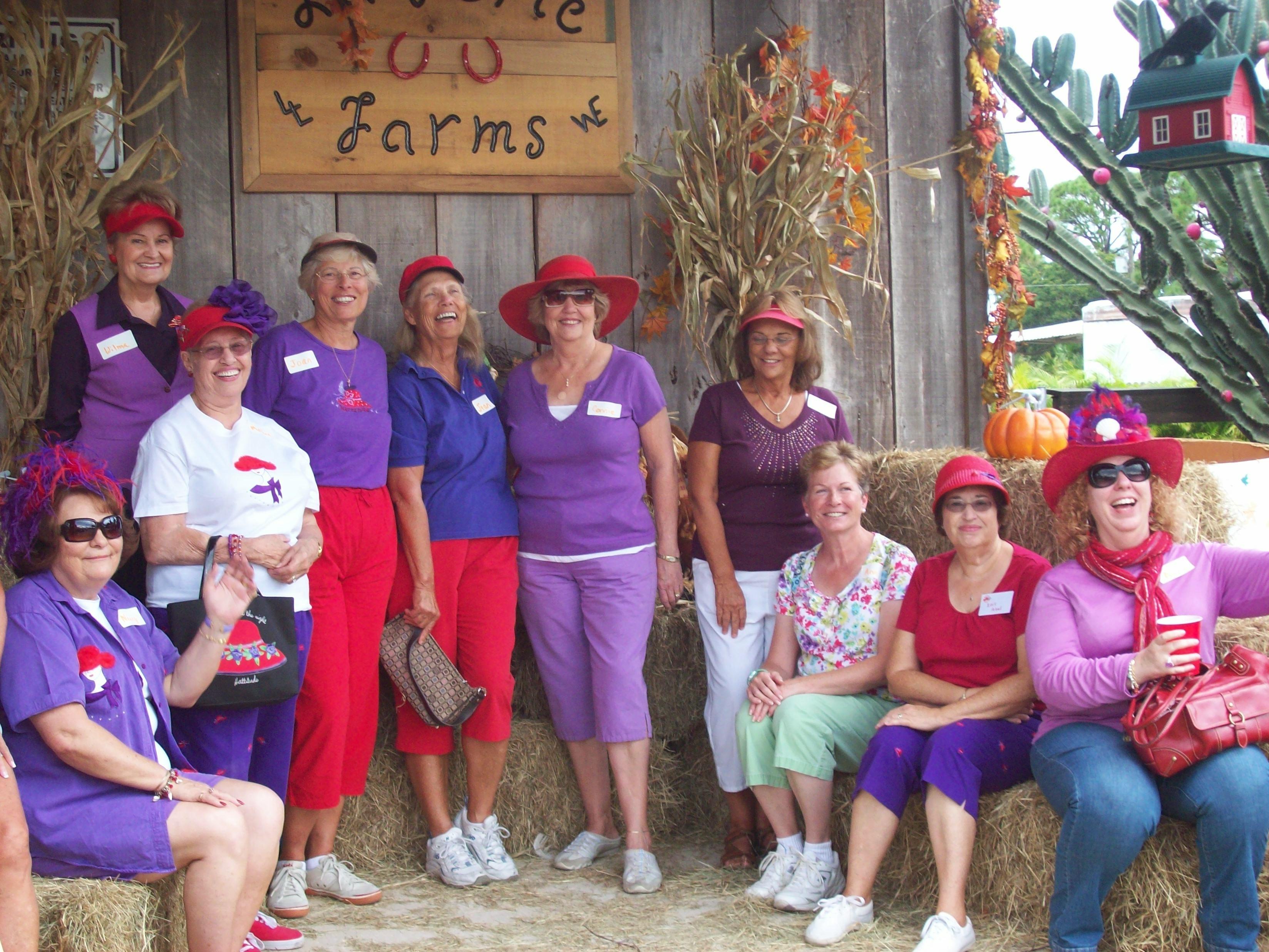 red hat ladies Oct 19, 10 006