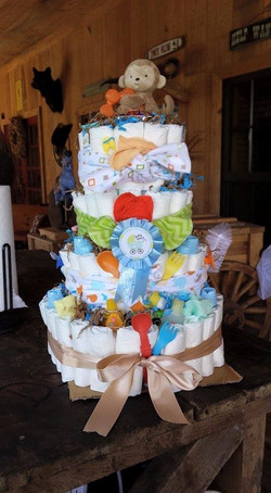 LaPorte Farms diaper cake2