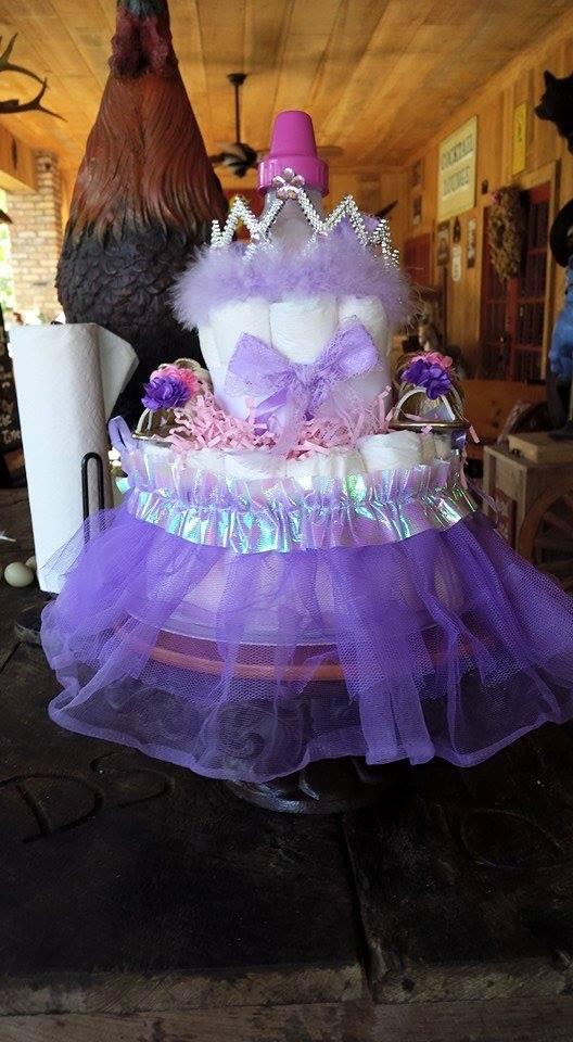 LaPorte Farms diaper cake3