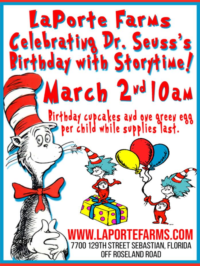 Celebrating Dr. Seuss's Birthday