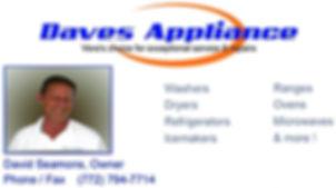Daves Appliance