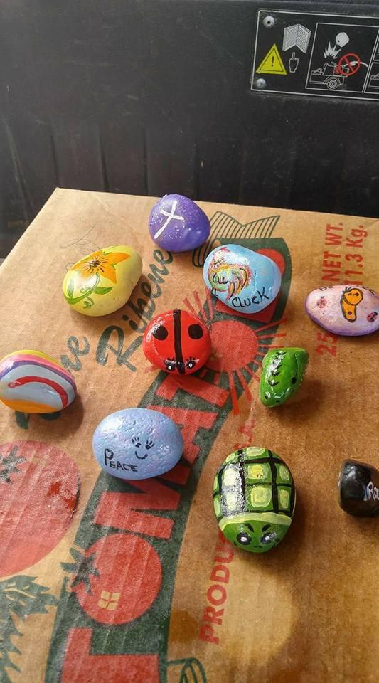 Family Fun Rock Painting