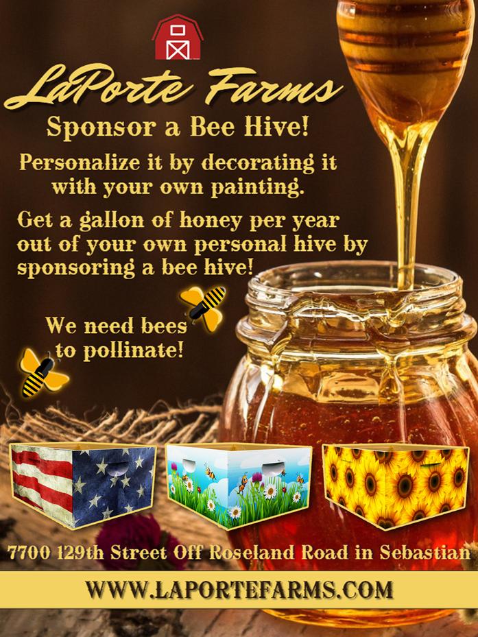 Sponsor a Bee Hive!